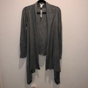 Mixit grey hi low cardigan